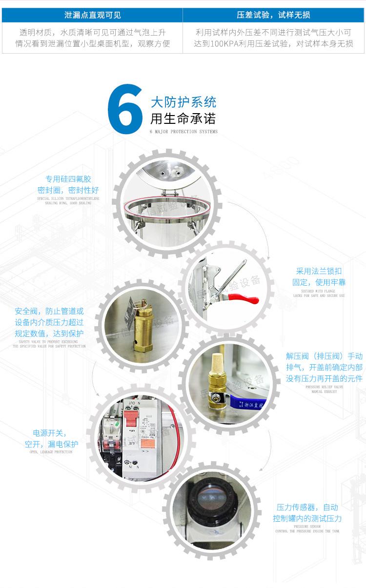 样品托盘放置 样品防水进行测试
